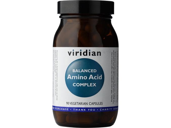 VIRIDIAN nutrition Balanced Amino Acid Complex 90 kapslí