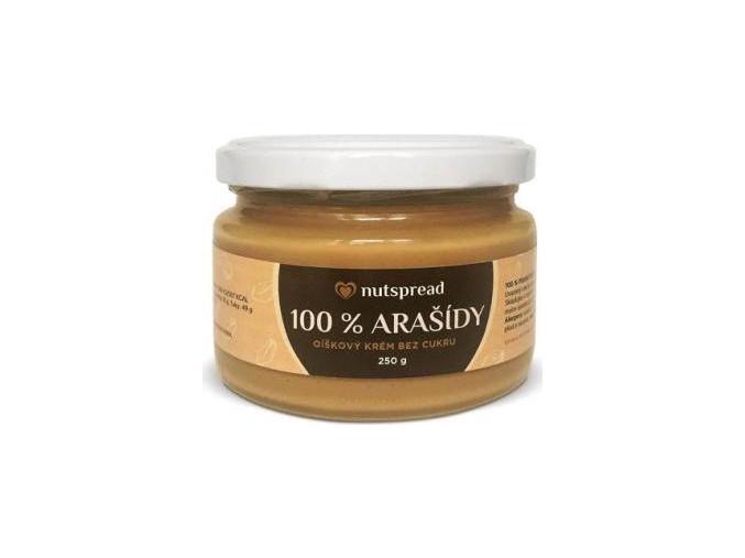 Nutspread 100% Arašídové máslo 250g