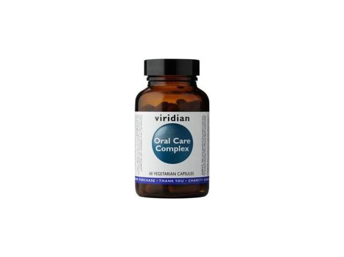 VIRIDIAN nutrition Oral Care Complex 60 kapslí