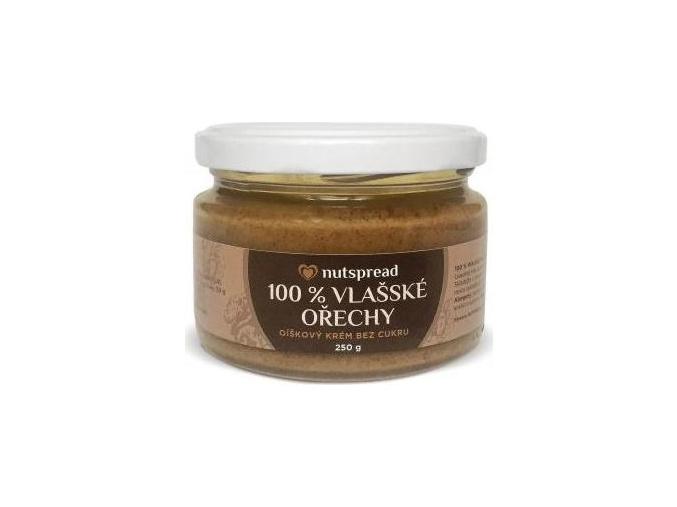 Nutspread 100% Máslo z vlašských ořechů 250g