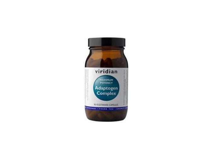 VIRIDIAN nutrition Maxi Potency Adaptogen Complex 90 kapslí
