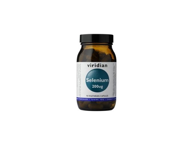 VIRIDIAN nutrition Selenium 200µg 90 kapslí