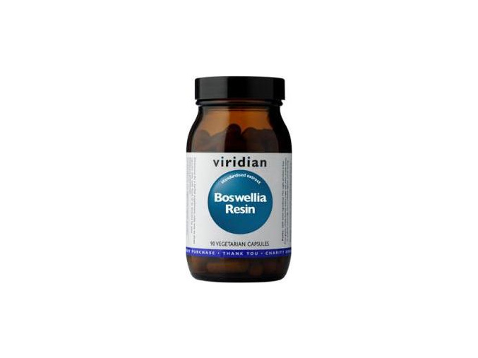 VIRIDIAN nutrition Boswellia Resin 90 kapslí
