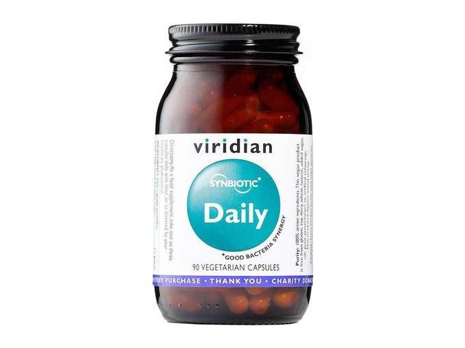 VIRIDIAN nutrition Synbiotic Daily 90 kapslí