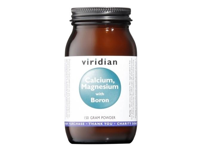 VIRIDIAN nutrition Calcium Magnesium + Boron 150g