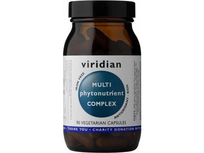 VIRIDIAN nutrition Multi Phyto Nutrient Complex 60 kapslí