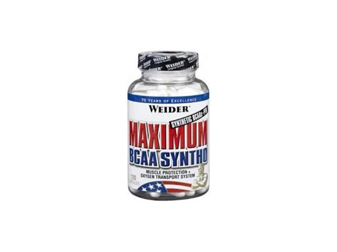 Weider Maximum BCAA Syntho 120 kapslí