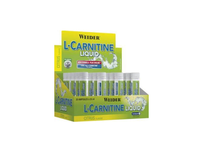 Weider L-Carnitine 1800mg 20x 25ml.