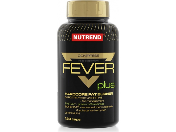 Nutrend Compress Fever plus 120 kapslí