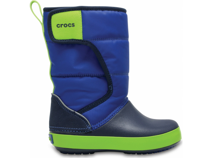 Crocs LodgePoint Snow Boot K - Blue Jean/Navy