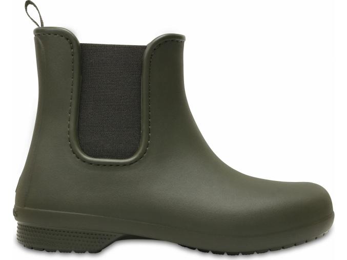 Crocs Freesail Chelsea Boot W - Dark Camo Green