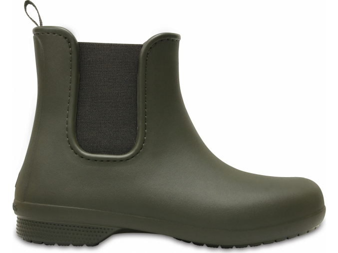 Crocs Freesail Chelsea Boot W Dark Camo Green