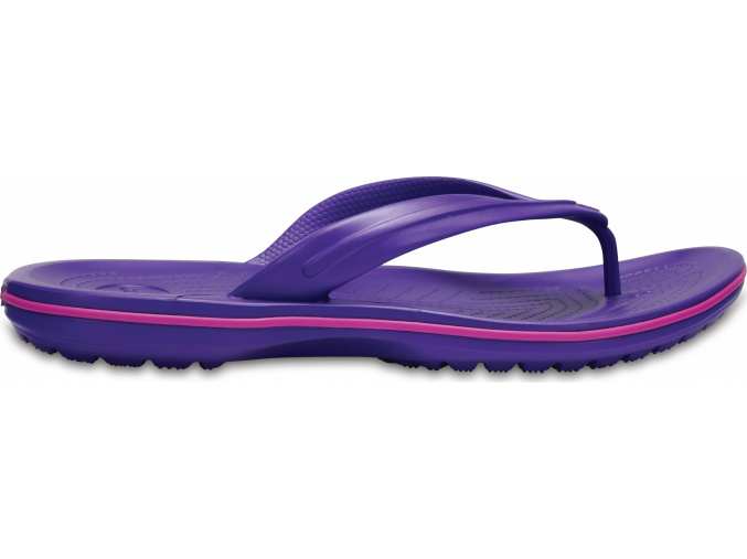 Crocs Crocband Flip  Ultraviolet/Vibrant Violet