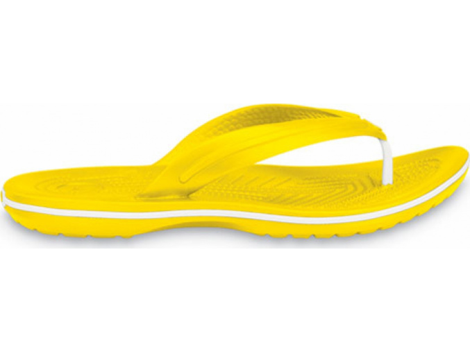Crocs Crocband Flip  Yellow