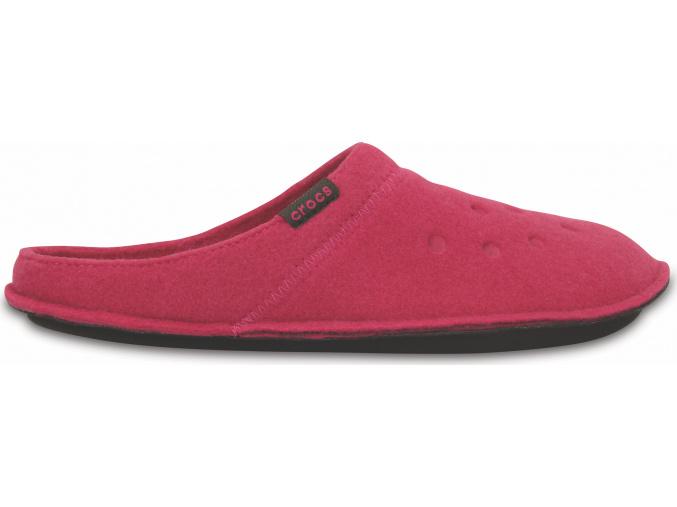 Crocs Classic Slipper - Candy Pink/Oatmeal