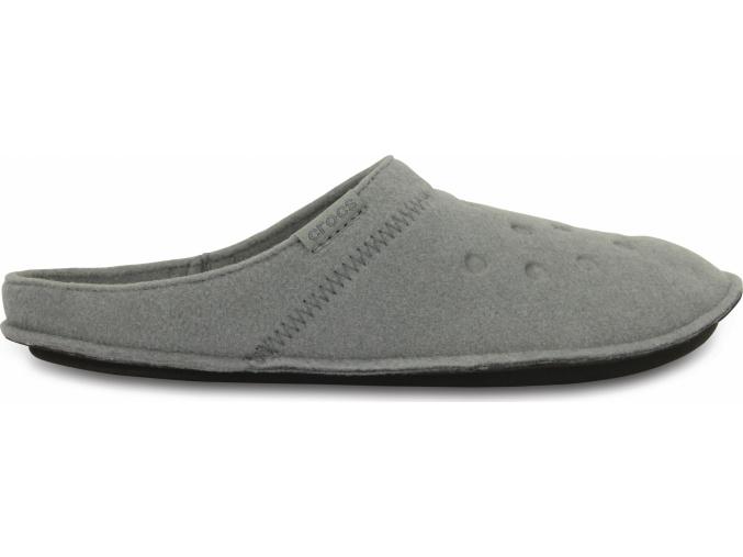 Crocs Classic Slipper - Smoke/Oatmeal