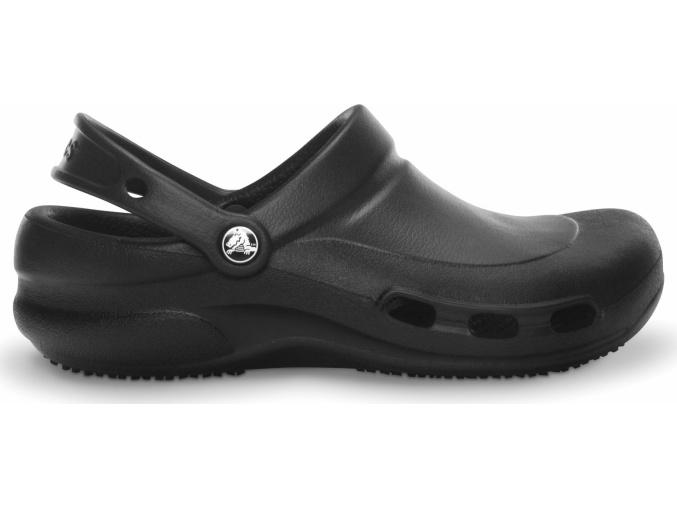 Crocs Work Bistro Vent Clog - Black