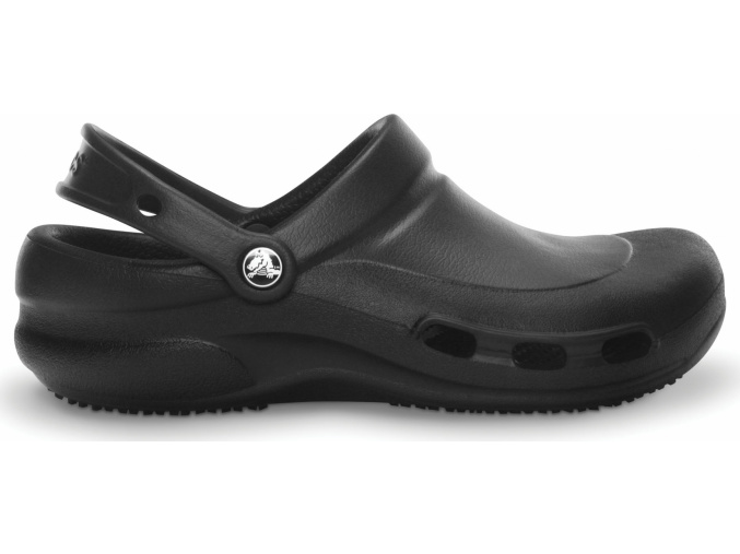 Crocs Work Bistro Vent Clog Black