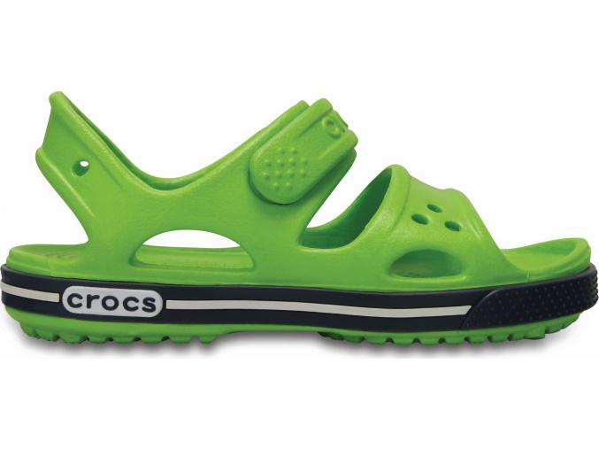 Crocs Crocband II Sandal - Volt Green/Navy