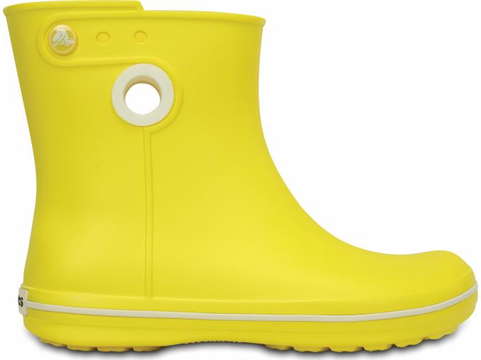 Crocs Women's Jaunt Shorty Boot Lemon