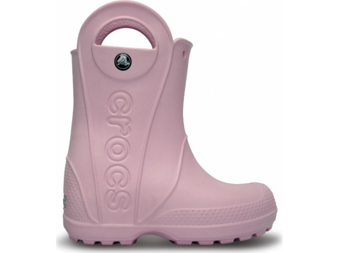 Crocs Handle It Rain Boot Kids - Bubblegum