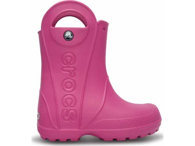 Crocs Handle It Rain Boot Kids Fuchsia