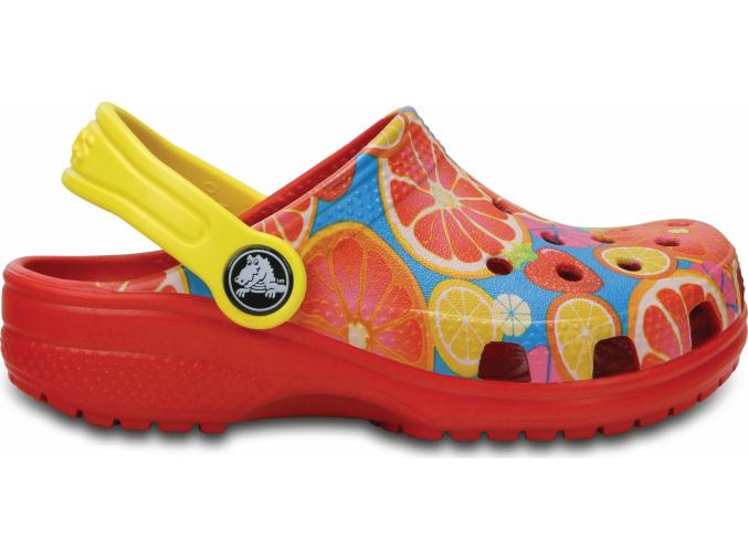 Crocs Classic Fruit Clog K - Flame
