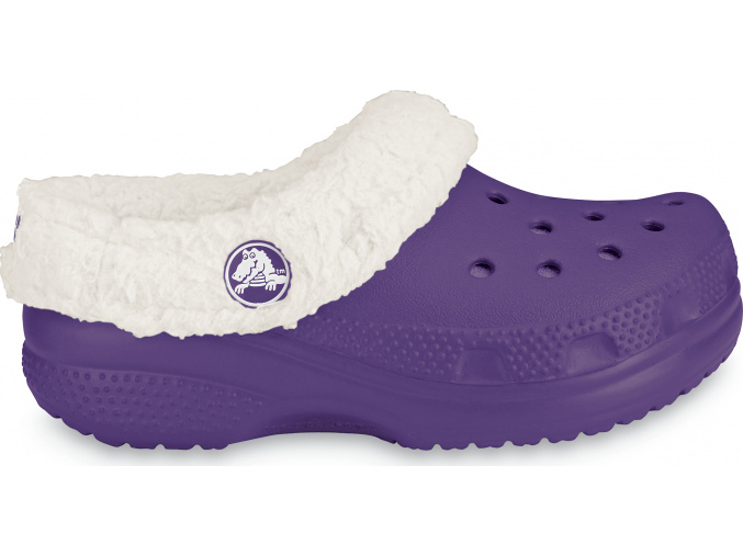 Crocs Kids Mammoth - Grape/Oatmeal