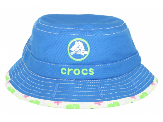 Crocs Girls Reversible Bucket - Aqua