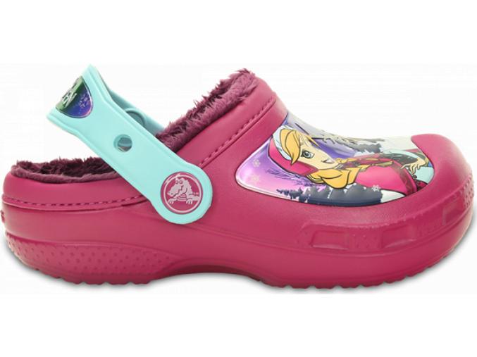 Crocs CC Frozen Lined Clog - Berry