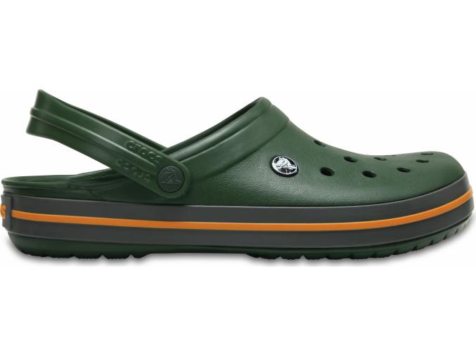 Crocs Crocband Forest Green/Slate Grey