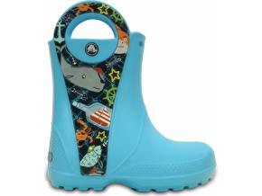 Crocs Handle It Sea Life Boot K - Electric Blue