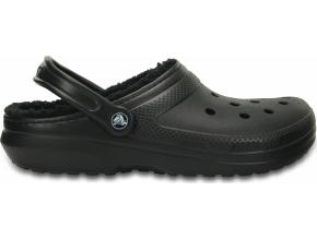 Crocs Classic Lined Clog - Black/Black