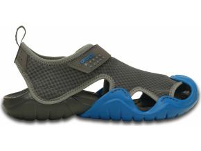 Crocs Swiftwater Sandal - Graphite/Ultramarine