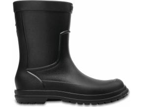 Crocs AllCast Rain Boot M - Black/Black
