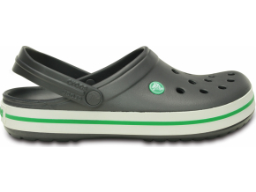 Crocs Crocband - Graphite/Grass Green