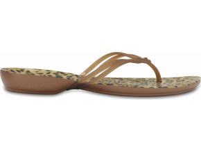 Crocs Isabella Graphic Flip W - Leopard
