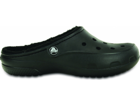 Crocs Freesail Lined Clog - Black/Black