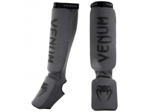 chranice holeni venum shinguards kontact grey black 2
