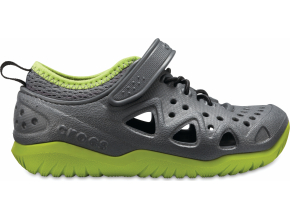 Crocs Swiftwater Play Shoe K - Slate Grey