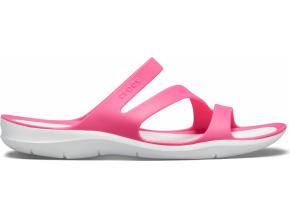 Crocs Swiftwater Sandal W - Paradise Pink/White