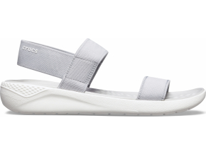Crocs LiteRide Sandal W - Light Grey/White