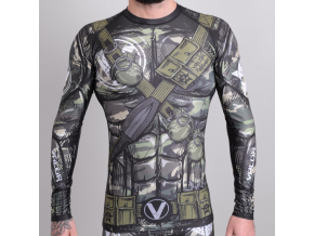 rashguard valor assassin camo f1