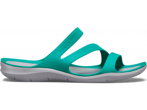 Crocs Swiftwater Sandal W Tropical Teal/Light Grey