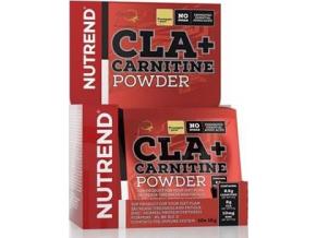 Nutrend CLA + Carnitine Powder 10x 12 g