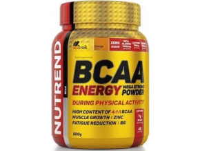 Nutrend BCAA Energy Mega Strong Powder 500g