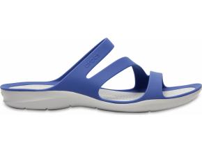 Crocs Swiftwater Sandal W - Blue Jean/Pearl Whit