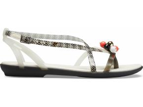 Crocs Drew X Crocs Isabella G Sndl W - Black/White