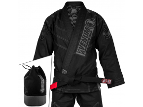 bjj gi venum elite light black black f5