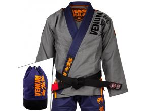 kimono jiu jitsu bjj gi challenger 4.0 grey navy fitexpert f1